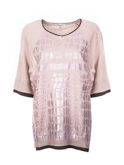 Джемперы Cristina Effe Cristinaeffe                                                                                                              розовый цвет