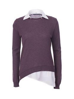 Джемперы Nuvola                                                                                                              фиолетовый цвет