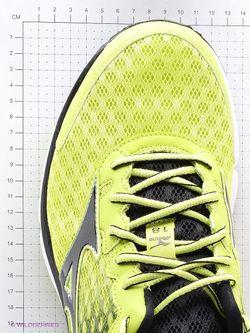 Кроссовки Mizuno                                                                                                              зелёный цвет
