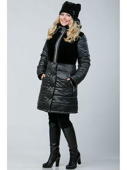 Пальто А Б Коллекция                                                                                                              чёрный цвет