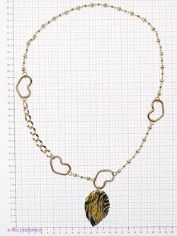 Колье Lastoria                                                                                                              Золотистый цвет