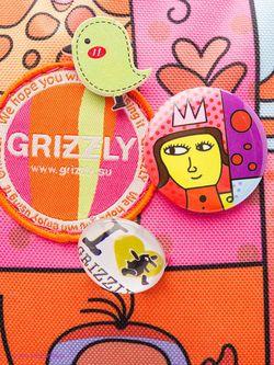 Рюкзаки Grizzly                                                                                                              Лиловый цвет