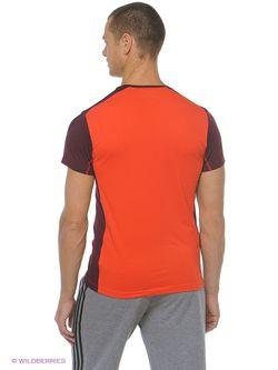 Футболка Adidas                                                                                                              оранжевый цвет