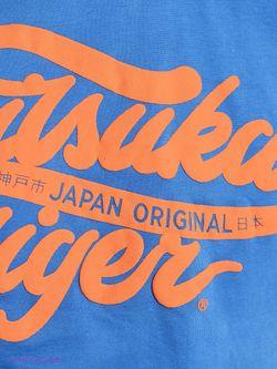 Футболка Onitsuka Tiger                                                                                                              синий цвет