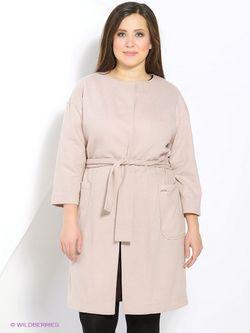 Пальто Femme                                                                                                              Кремовый цвет