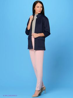 Пальто Sweet Me                                                                                                              синий цвет