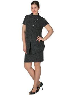 Кардиганы Regina Style                                                                                                              серый цвет