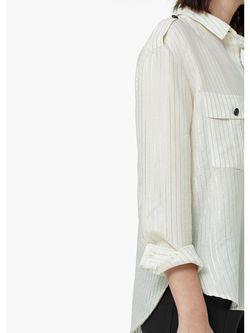 Блузки Mango                                                                                                              белый цвет