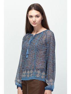 Блузки Vilatte                                                                                                              голубой цвет