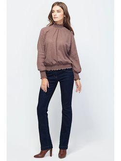 Блузки Vilatte                                                                                                              коричневый цвет