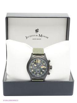 Часы Jacques du Manoir                                                                                                              черный цвет