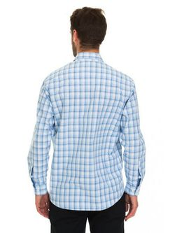 Рубашки Westrenger                                                                                                              голубой цвет
