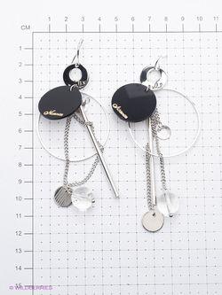 Серьги Art Silver                                                                                                              серебристый цвет