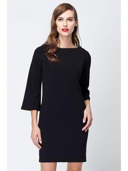 Платья Vilatte                                                                                                              черный цвет