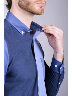 Рубашки Eden Park                                                                                                              синий цвет