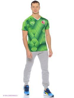 Футболка Puma                                                                                                              зелёный цвет