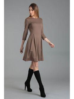 Платья ЭНСО                                                                                                              коричневый цвет