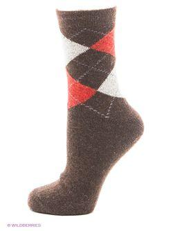 Носки Burlesco                                                                                                              коричневый цвет