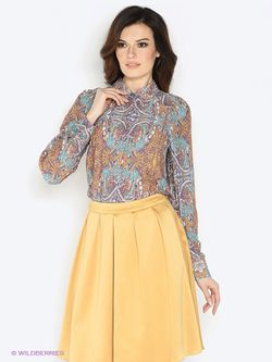 Блузки KEY FASHION                                                                                                              оранжевый цвет