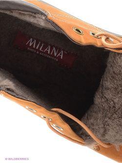 Ботинки Milana                                                                                                              Рыжий цвет
