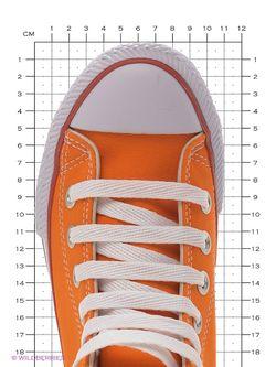 Кеды 4U                                                                                                              оранжевый цвет