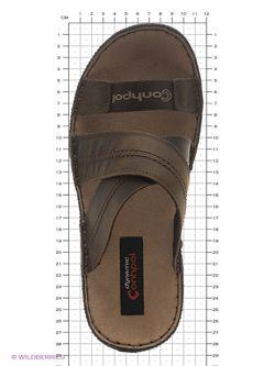 Сандалии Conhpol                                                                                                              коричневый цвет