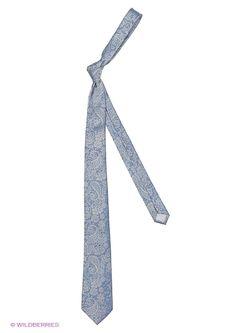 Галстуки Oodji                                                                                                              голубой цвет