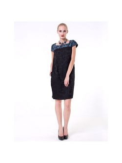 Платья LO                                                                                                              черный цвет