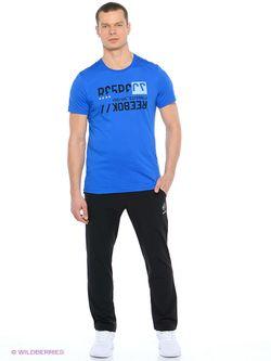 Футболка Reebok                                                                                                              синий цвет