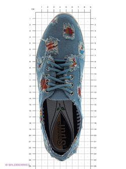 Кеды Spur                                                                                                              синий цвет