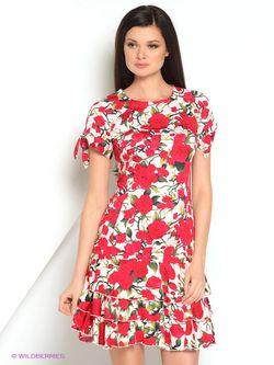 Платья La Fleuriss                                                                                                              красный цвет