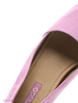 Туфли Ecco                                                                                                              фиолетовый цвет