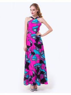 Платья JN                                                                                                              Фуксия цвет