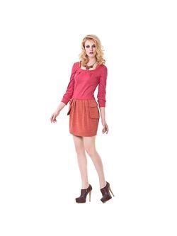 Платья LO                                                                                                              розовый цвет