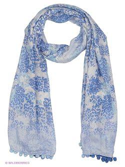 Палантины Moltini                                                                                                              голубой цвет