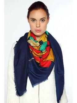 Платки Sophie Ramage                                                                                                              синий цвет