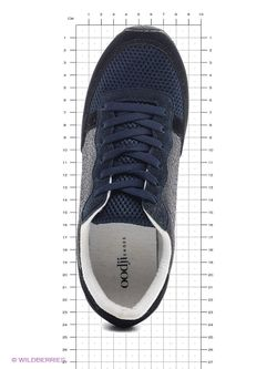 Ботинки Oodji                                                                                                              синий цвет