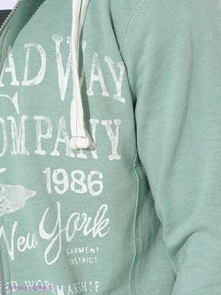 Толстовки Broadway                                                                                                              зелёный цвет