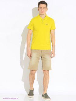 Поло Jack Wolfskin                                                                                                              желтый цвет