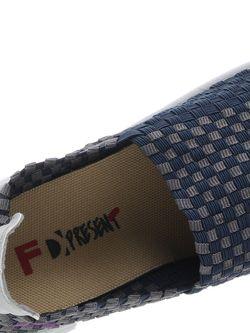 Балетки Francesco Donni                                                                                                              синий цвет