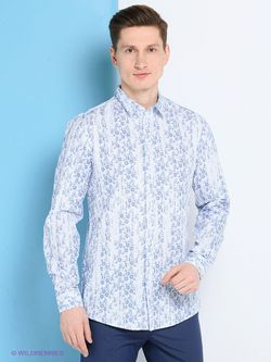 Рубашки Trussardi                                                                                                              голубой цвет