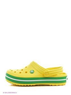 Сабо Crocs                                                                                                              желтый цвет