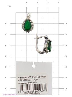 Ювелирные Серьги Lovely Jewelry                                                                                                              серебристый цвет