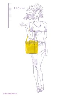 Сумки Jane's Story                                                                                                              желтый цвет