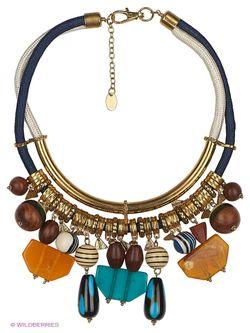 Ожерелья Mango                                                                                                              синий цвет