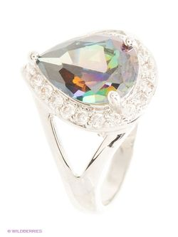 Кольца Lovely Jewelry                                                                                                              голубой цвет