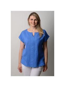 Блузки LINO RUSSO                                                                                                              голубой цвет