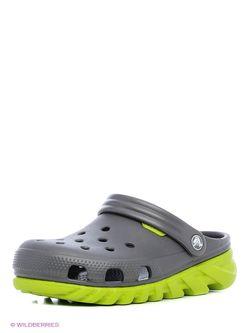 Сабо Crocs                                                                                                              серый цвет