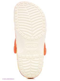Сабо Crocs                                                                                                              оранжевый цвет