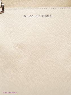 Сумки Alessandro Birutti                                                                                                              бежевый цвет